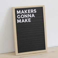 230x230 letterboard thingiverse