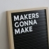 Letter Board - Fully 3D Printed image