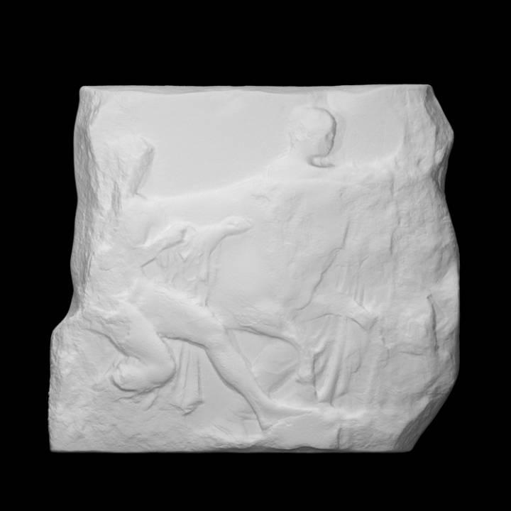 Parthenon Frieze _ South XLIII, 130-131-132