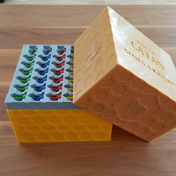 Storage box (city & knights)