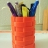 Pencil Holder (Picnic Basket Design) image