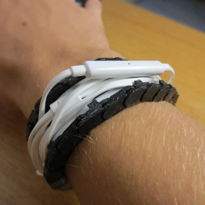 Headphone Wrapper Bracelet