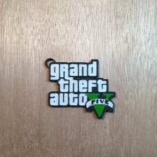 Grand Theft Auto V keychain