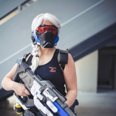 Picture of print of Soldier 76 Pulse Rifle Overwatch