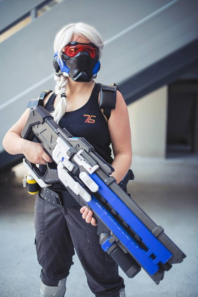 Picture of print of Soldier 76 Pulse Rifle Overwatch This print has been  uploaded by Sharayah