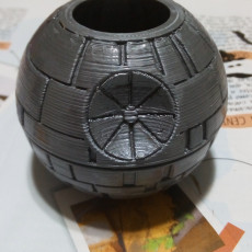 Picture of print of Death Star Planter