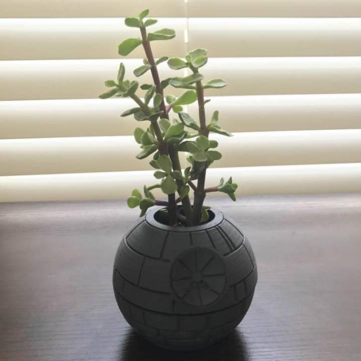 Death Star Planter