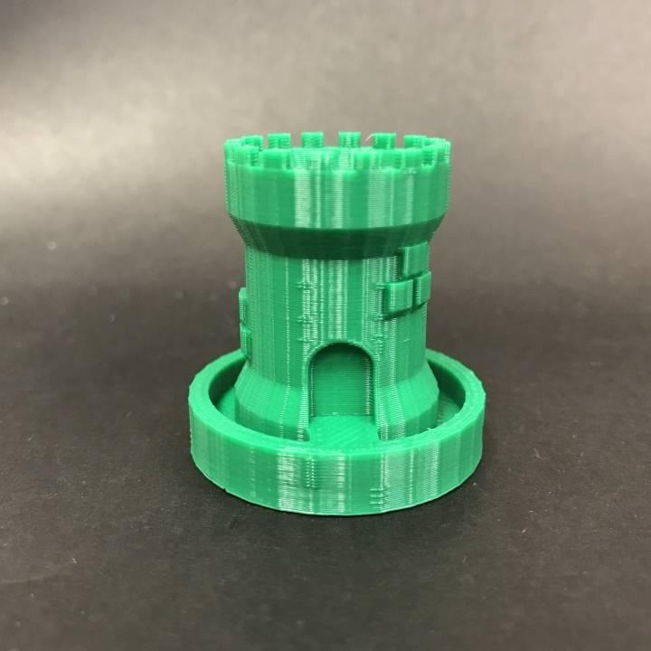 Micro Castle Planter