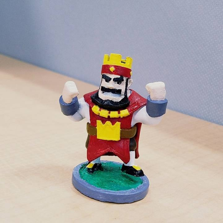 Clash Royale - Red King