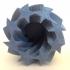 twisting star flower pot image