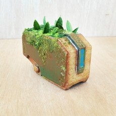 Overgrown Bastion Planter - Overwatch