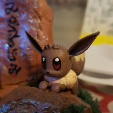 Picture of print of ♡♡ Eevee and Espeon ♡♡