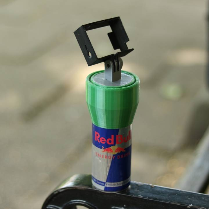 Go Pro Red Bull can handle
