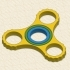Gyro Fidget Spinner 2-in-1 (With Grip) image