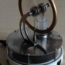 stirling motor driver/holder