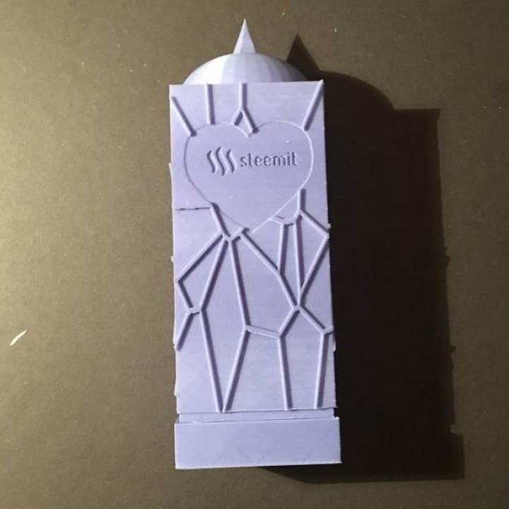Steemit-inspired Sculpture/Award