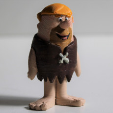 Picture of print of Barney Rubble