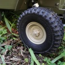 Jeep Combat Rims 1.55