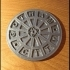 Gotham City Manhole Cover Coaster (Batman) image