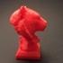 Tiger Head Sculpture image