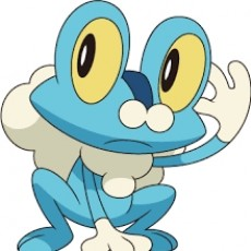 Picture of print of Froakie Pokémon Character