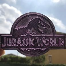 Jurassic world key chain