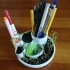 Plant and pen holder image