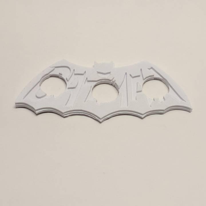 1966 Batman Logo Fidget Spinner