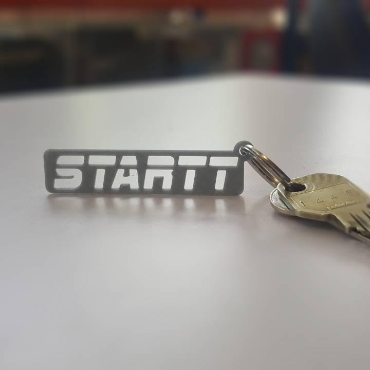 Startt Logo Keyring