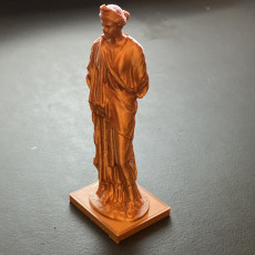 Picture of print of Statue of a Goddess