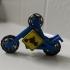 MOTORCYCLE STICKMAN FIDGET SPINNER image