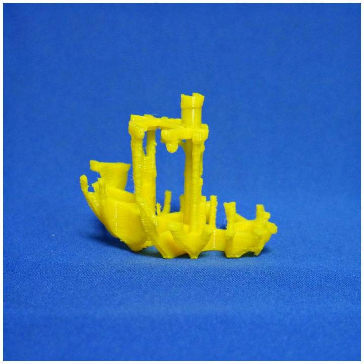"""Voronoi """"Broken Benchy""""- The true(and not so jolly) torture test"""