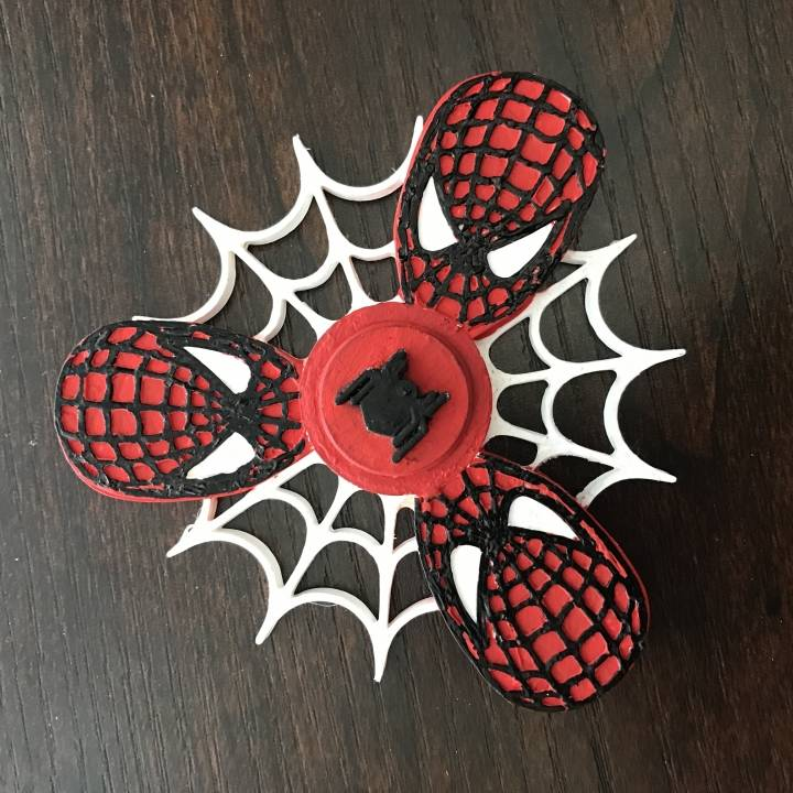 Spiderman Fidget Spinner