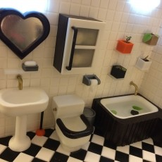 Miniature Toilet   (bathroom)