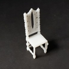 Antique Chair - TinkerCAD