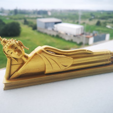 Picture of print of Reclining Buddha