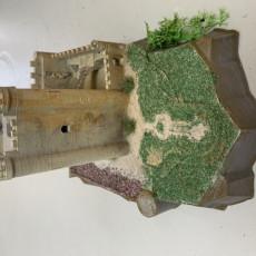 Picture of print of Castle of Alcalá del Júcar
