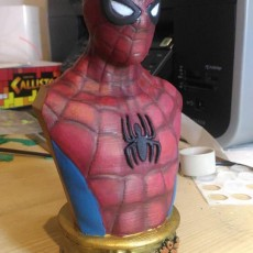 Picture of print of Vintage Spider-Man Bust