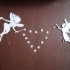 figurine de fées et leurs étoiles image