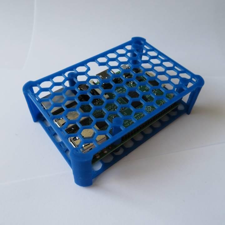 3D Printable Quick raspberry pi case by Erik Leijen