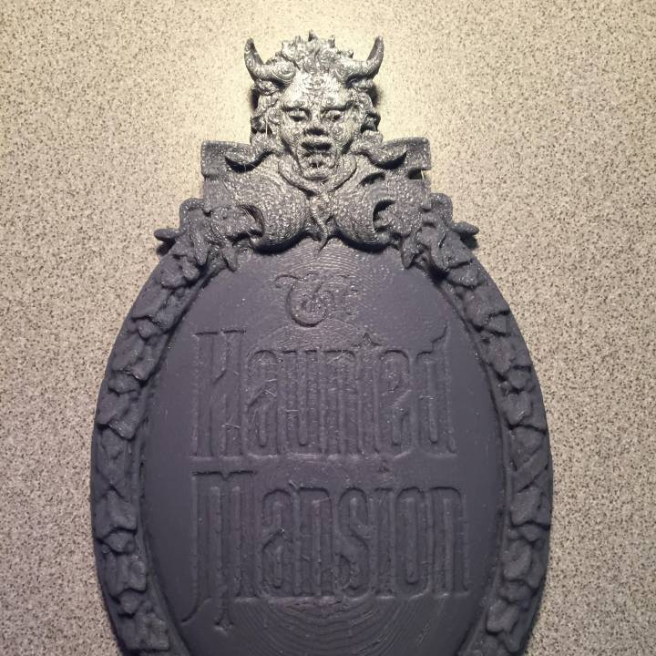 Disney World Magic Kingdom The Haunted Mansion.