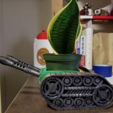Picture of print of tank planter