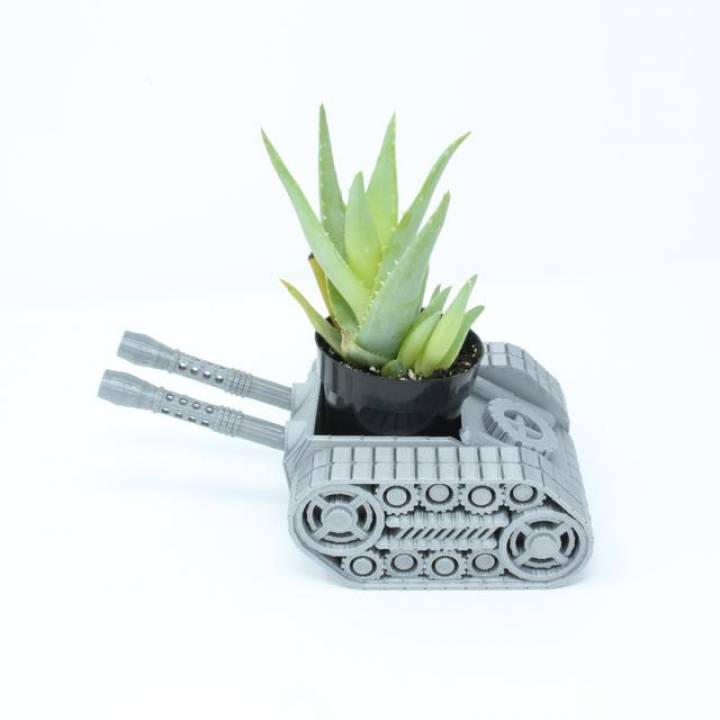 tank planter
