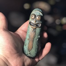 Picture of print of Pickle Rick!