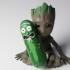Pickle Rick! print image