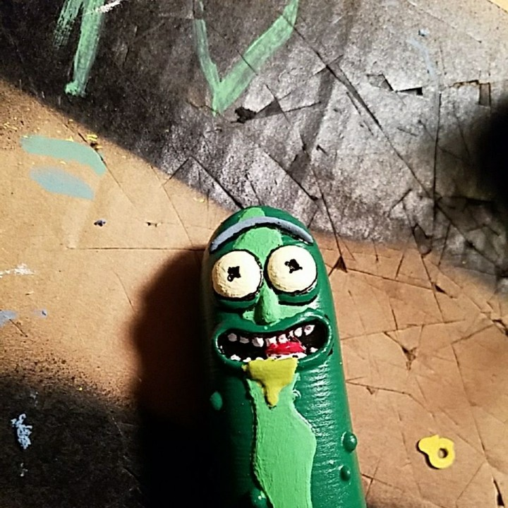 Picture of print of Pickle Rick! This print has been uploaded by Noah