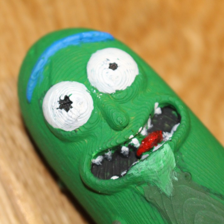 Picture of print of Pickle Rick! This print has been uploaded by Saxon Fullwood