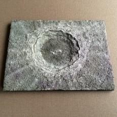 Copernicus Crater, moon