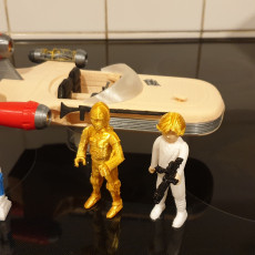 Picture of print of C3PO