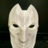 Jhin's Mask from League of Legends print image